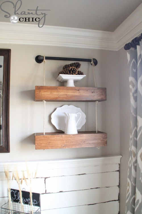 DIY-Shelves-with-Rope