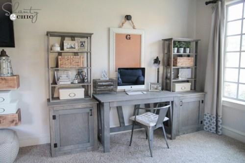 Desk System DIY Free Plans