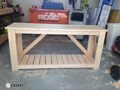 diy-console-table-before-stain