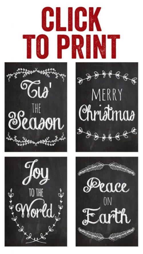 Print Ornaments