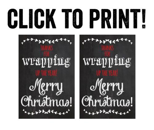 Print Teacher Gift Printable
