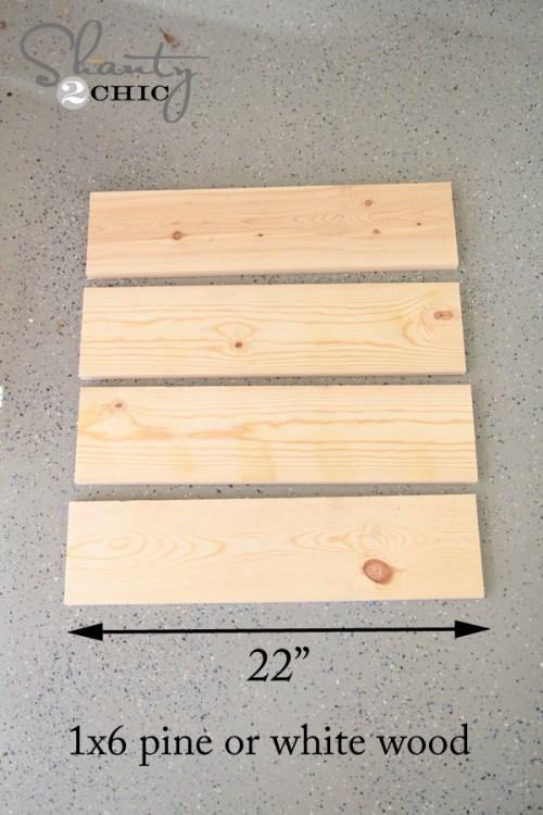 Wood for DIY Sign