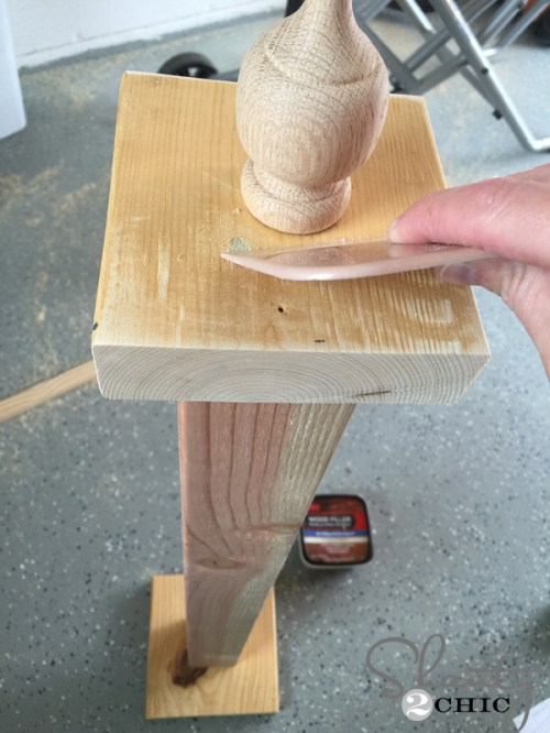attach-finial-and-fill-screw-holes