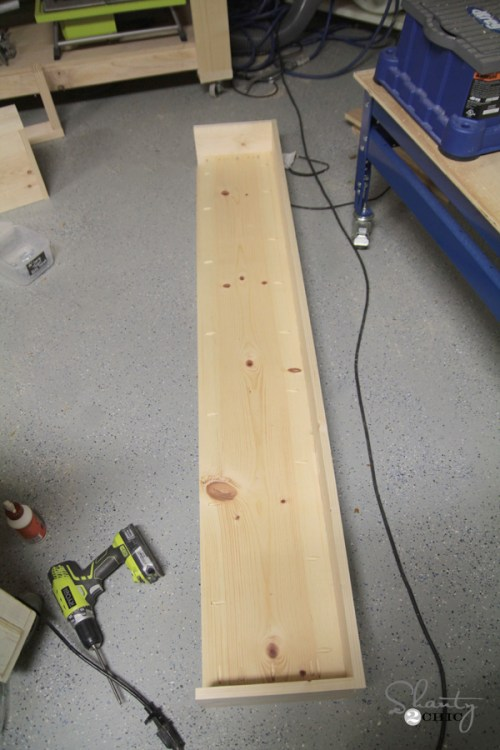 Kreg Jig Floating Shelf