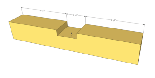 4x4 cut