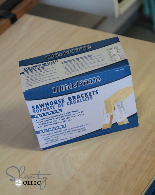 Sawhorse Brackets Home Depot