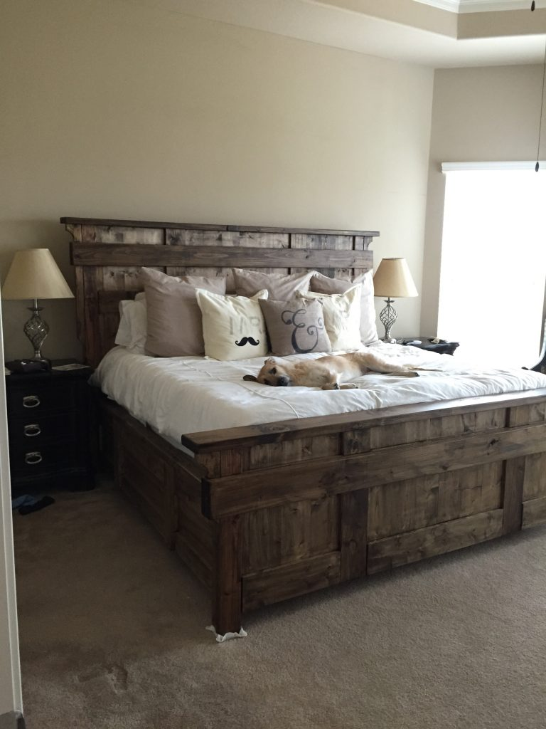 Kind Size Bed Shanty 2 Chic