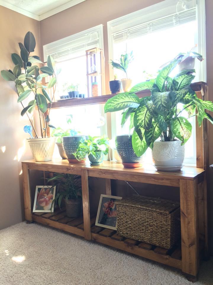 Window Plant Stand Shanty 2 Chic