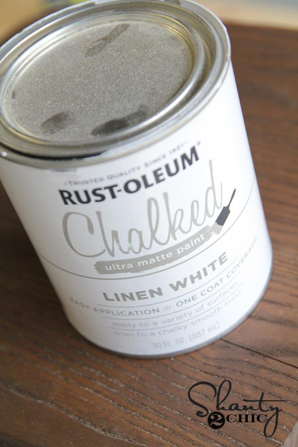 Rust-Oleum Chalked Paint