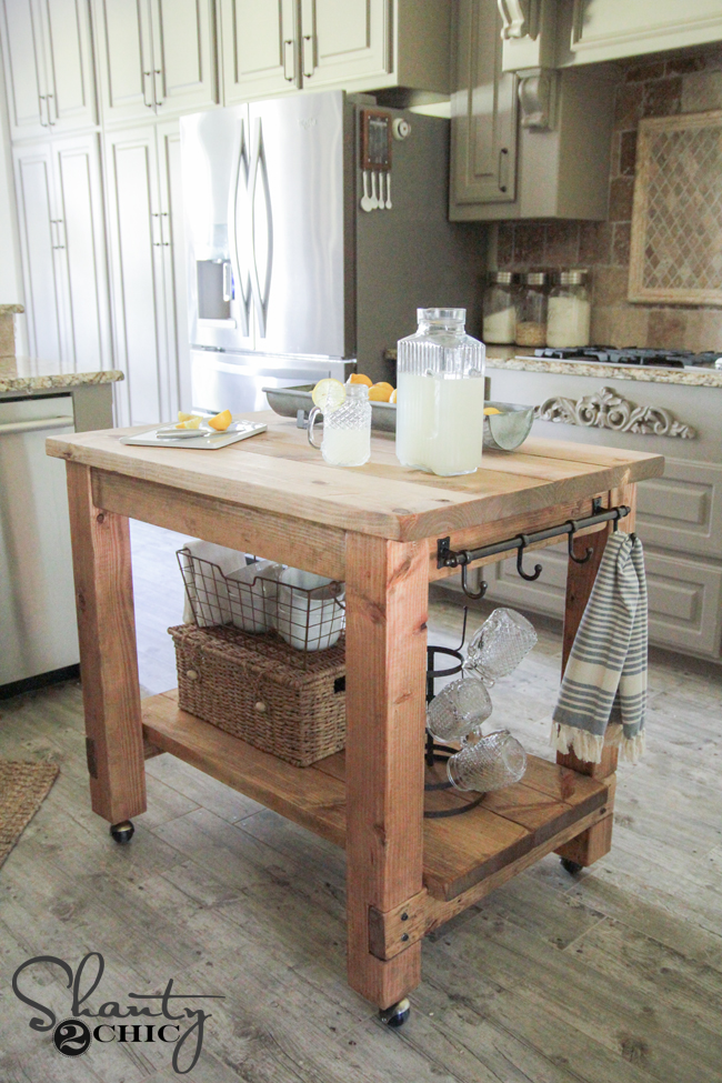 Shanty2Chic Kitchen Island