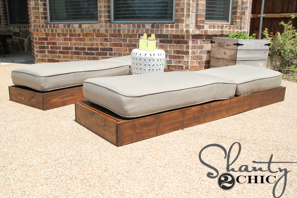 Diy Outdoor Lounge Chairs Shanty 2 Chic