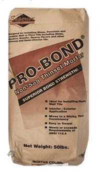 Probond Thinset Mortar