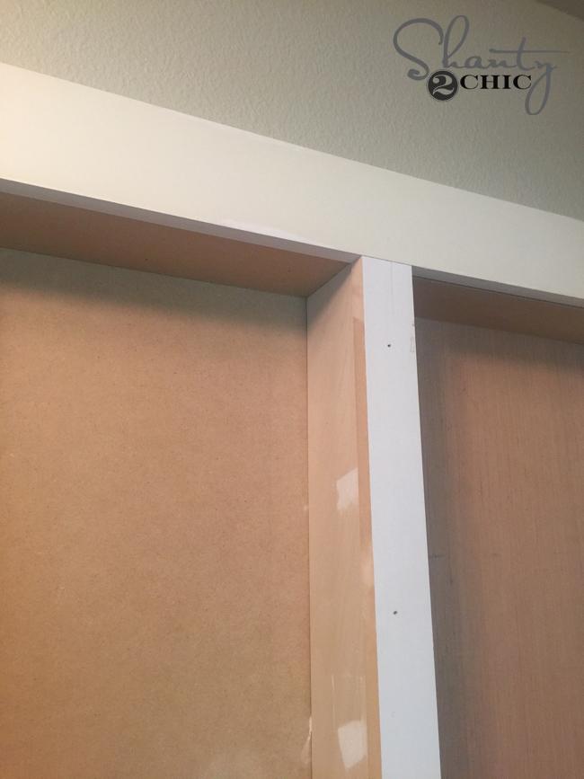 framing a wall niche