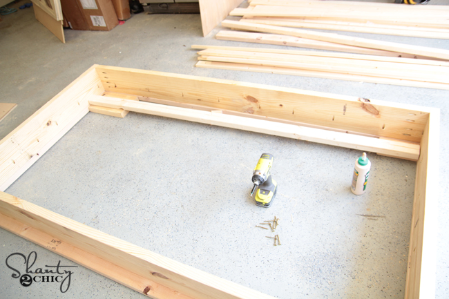 Bed frame DIY