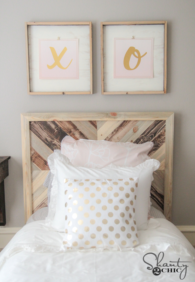 DIY Headboard by Shanty2Chic