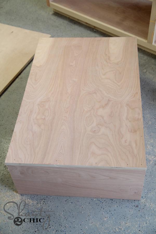 base of drawers