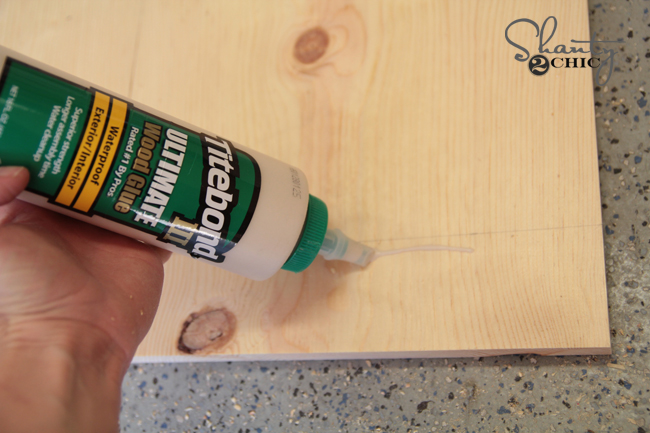 Wood Glue for train table