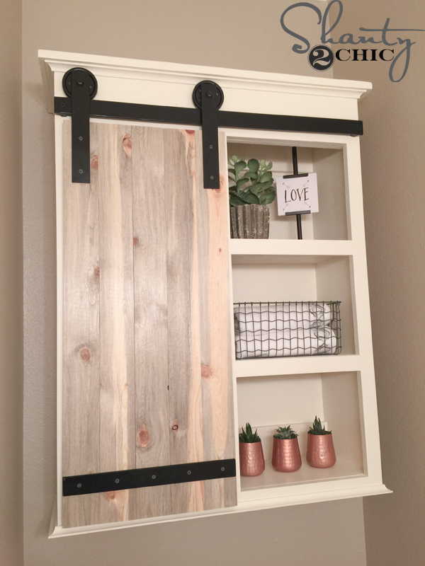 DIY-Bathroom-Storage-Cabinet-with-Barn-Door