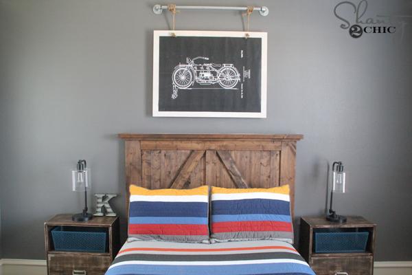 DIY-Motorcycle-Wall-Art
