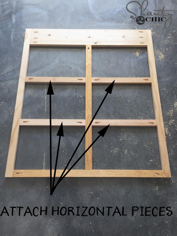 attach-horizontal-pieces-to-face-frame