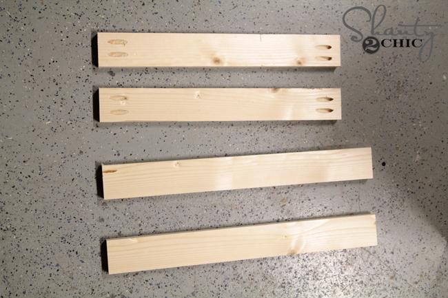 wood for door on vanity