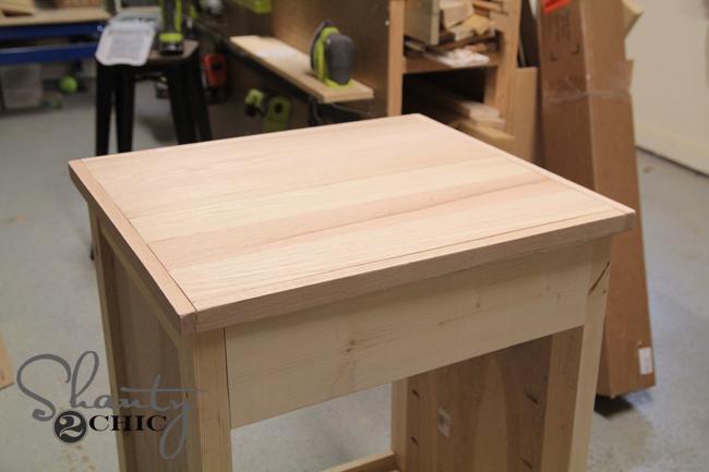 wood top for vanity