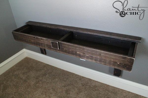 slide-desk-over-cleat