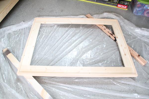 stain-frame