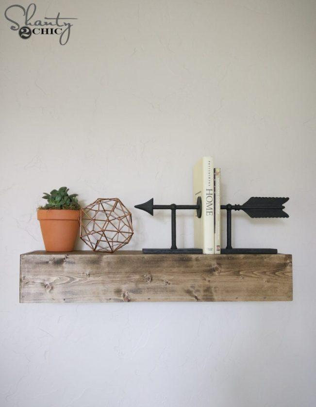 DIY Floating Shelves Video Tutorial