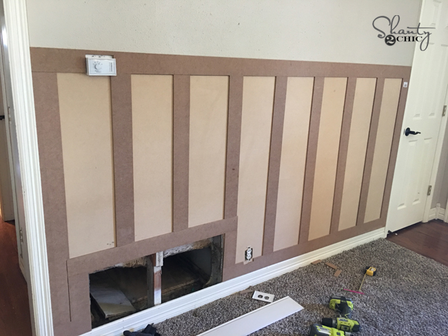 board and batten wall