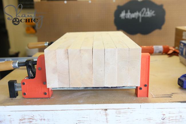 laminate the wood legs