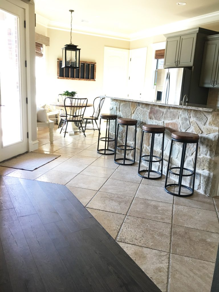 Laminate Flooring in My Kitchen - Shanty 8 Chic