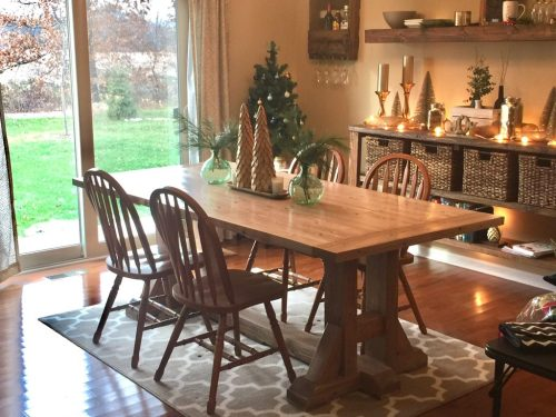 Pottery Barn Table and Bench - Shanty 2 Chic
