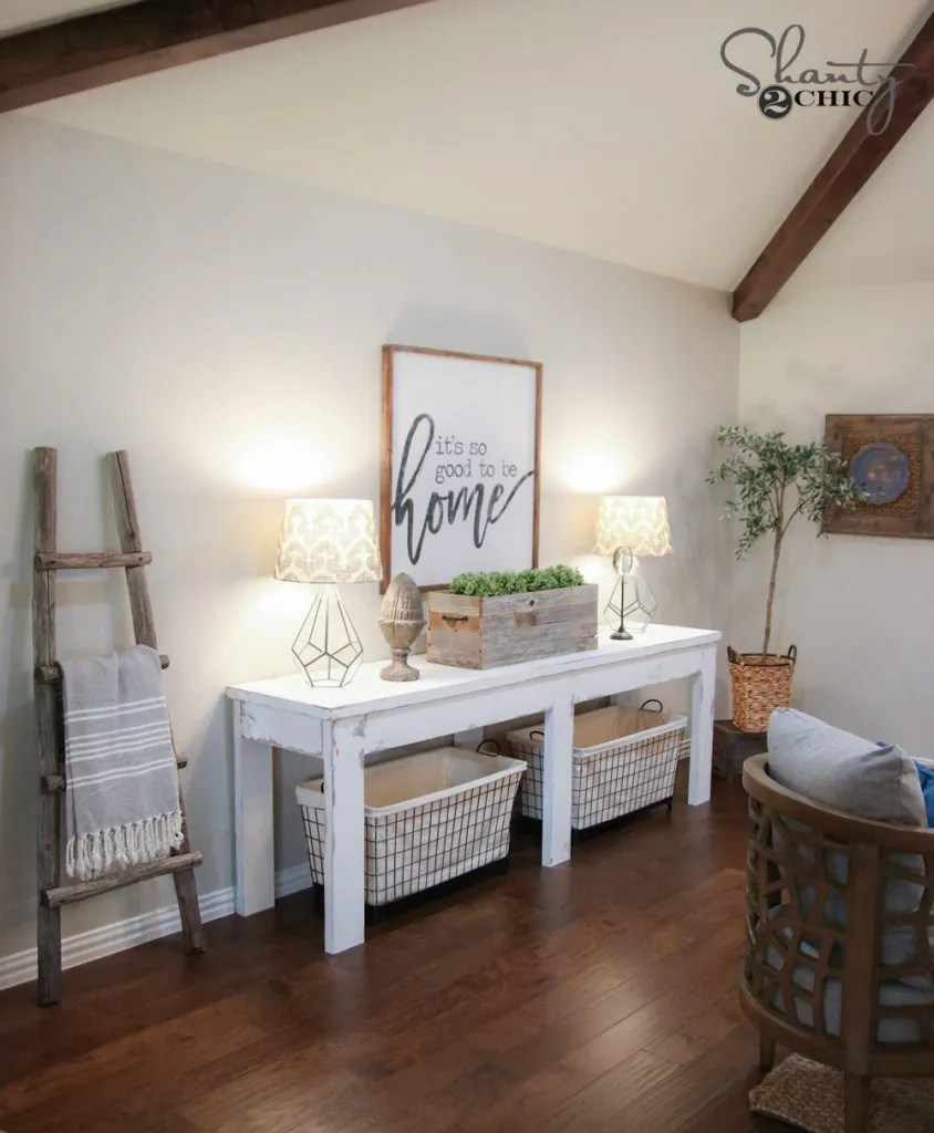 40 Farmhouse Console Table Shanty 2 Chic