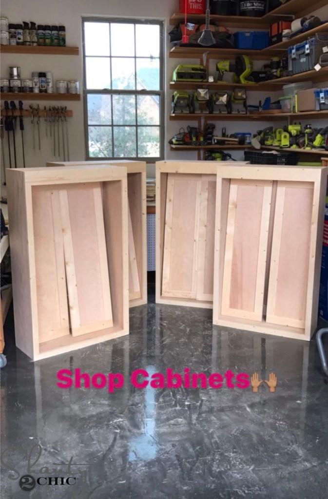 DIY Cabinets - For Garage or Shop