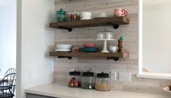 Peachy Easy Diy Floating Shelves Floating Shelf Tutorial Video Interior Design Ideas Helimdqseriescom