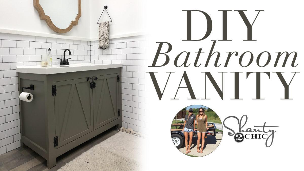 Diy Modern Farmhouse Bathroom Vanity Shanty 2 Chic