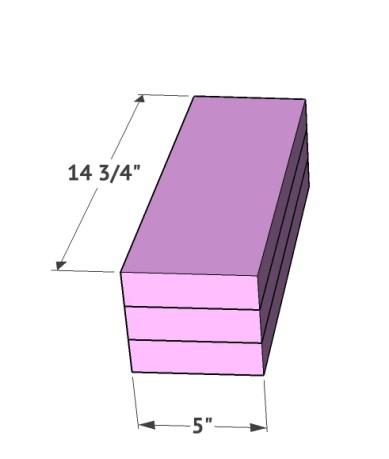 DIY Rustic Modern Queen Bed