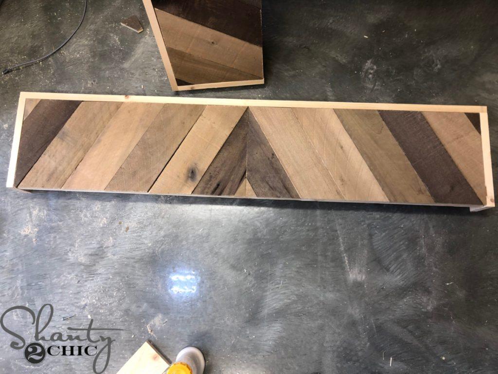 DIY Barn Wood Window Box