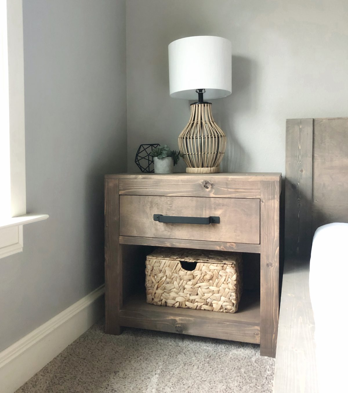 40 Nifty Nightstands To Diy