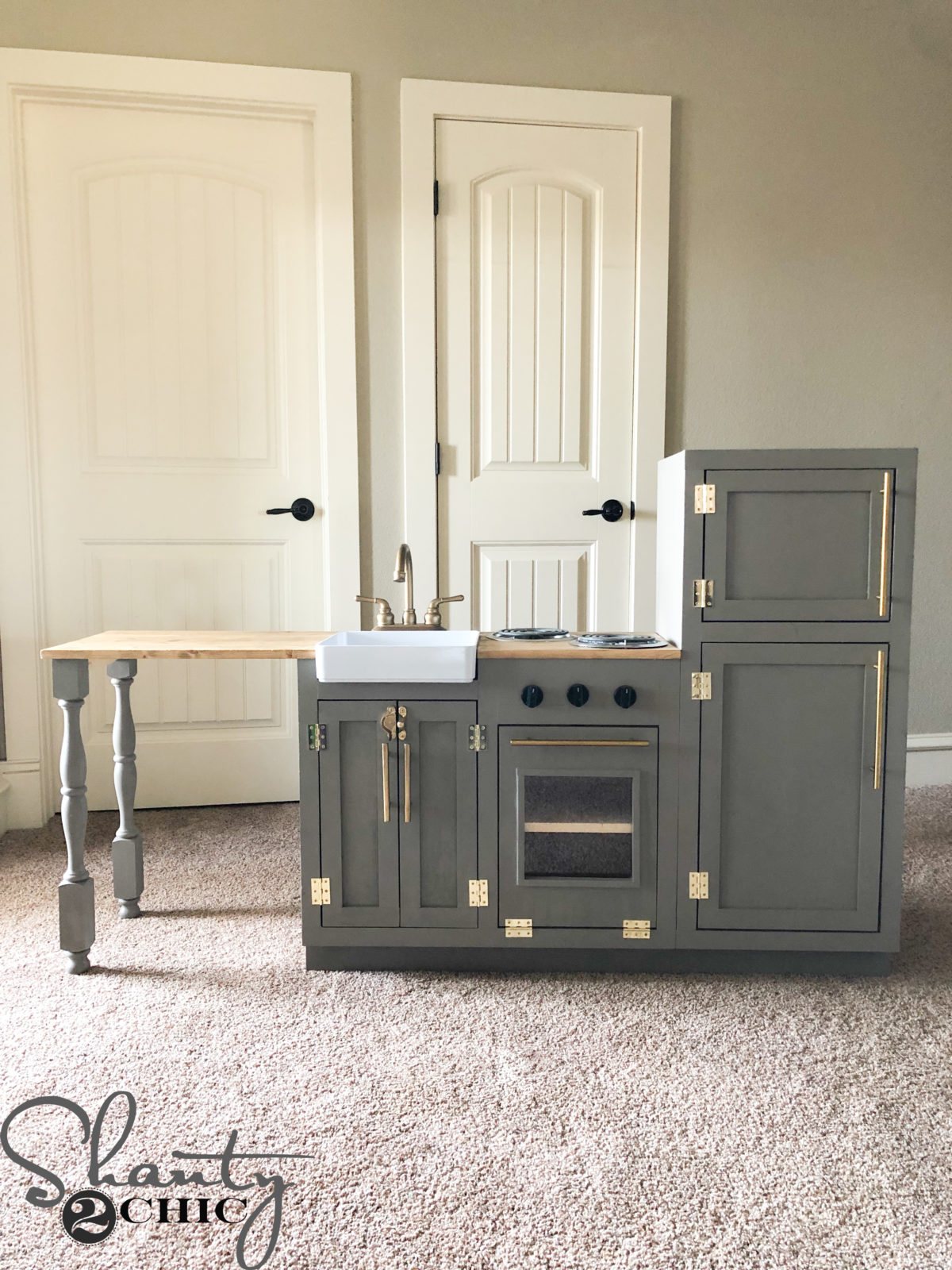 Diy Play Kitchen Shanty 2 Chic