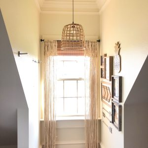 Basket Chandelier Hack