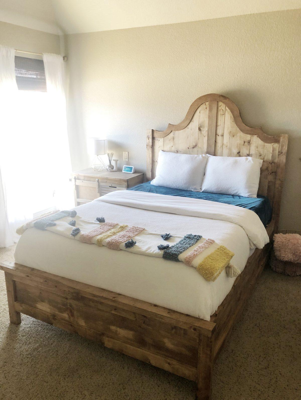 DIY Fancy Full Bed