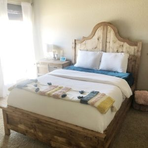 DIY Fancy Full Bed