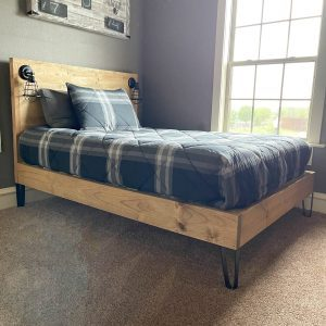 DIY Full Sized Bed Plans