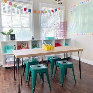 DIY Hairpin Table Shanty2Chic