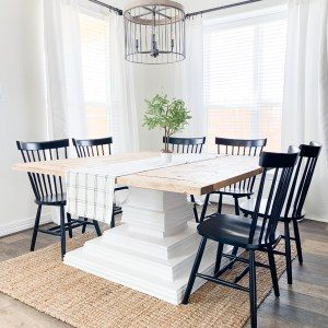 DIY-Square-Dining-Table
