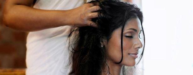 massage cheveux