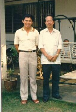 Sifu Wong and Sifu Ho Fatt Nam