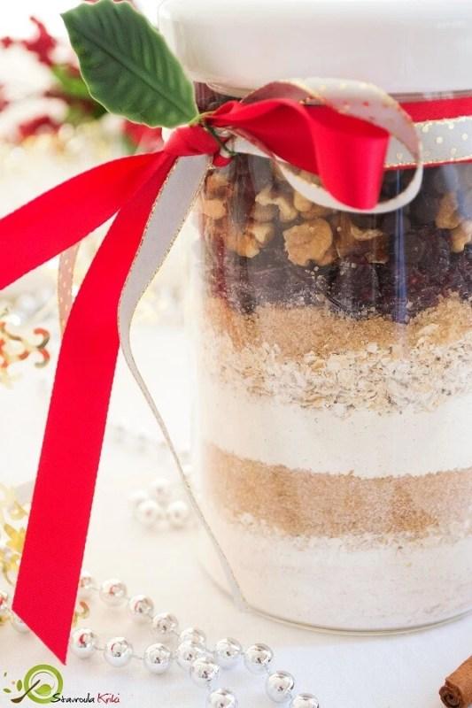 Μπισκότα πρωινού με 195 θερμίδες σε γιορτινό βαζάκι! Το καλύτερο δώρο αλά Shape